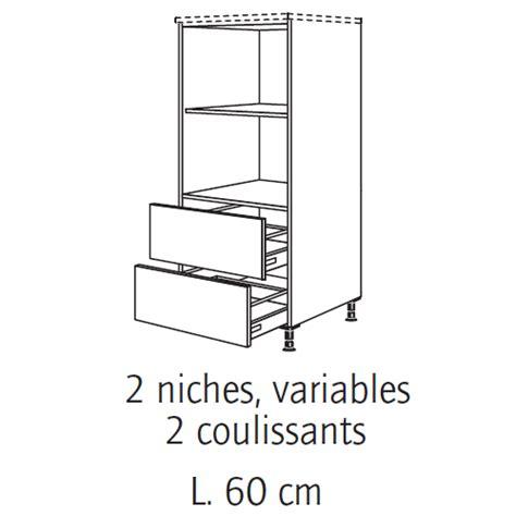 meuble cuisine pour four bien meuble colonne cuisine brico depot 9 meuble