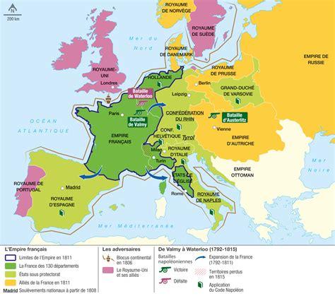 L'empire Napoléonien  Image Lelivrescolairefr