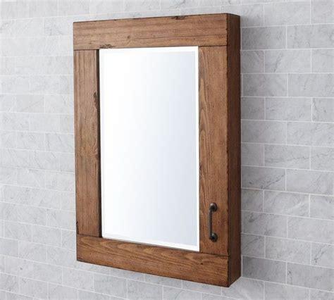 wood medicine cabinets  mirrors  bathroom