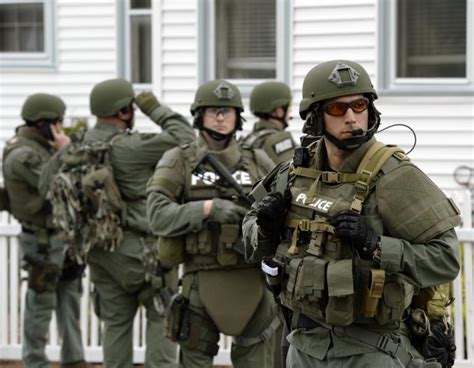 State Cops Loaded Up With m In Military Gear