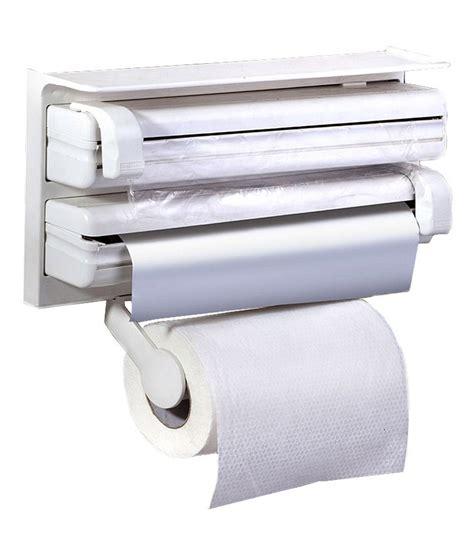retails triple paper dispenser  cling film wrap