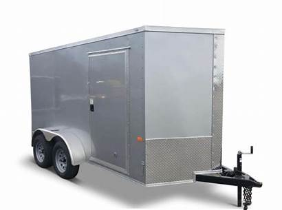 Trailer Enclosed 6x12 Much Weigh Towing Does