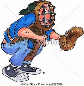 Catcher clipart - Clipground