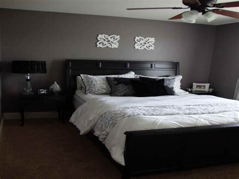 Bed Room Furniture Designs, Purple Gray Bedroom Paint