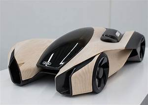 Futur Auto : futuristic vehicle future car audi wood aerodynamics concept by pavol kirnag scale model ~ Gottalentnigeria.com Avis de Voitures