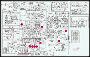 Lg Cf20f - Schematic  Circuit Diagram