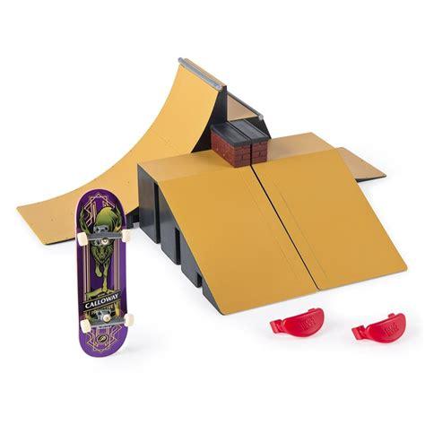 Tech Deck Half Pipe Target by Tech Deck Starter Kit R Set And Board Ebay