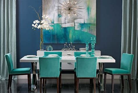 turquoise gem dining table dining room by high