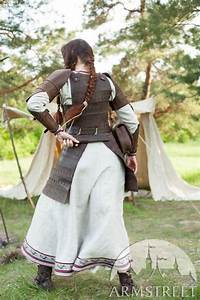 """Viking's Leather Armour """"Shieldmaiden"""". Available in ..."""