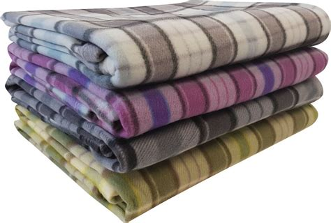 Large Throws For Sofas Uk by Tartan Fleece Blanket Sofa Throw Bed Throwover Cover