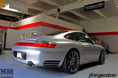 porsche 996 4s on forgestar cf10 gunmetal wheels