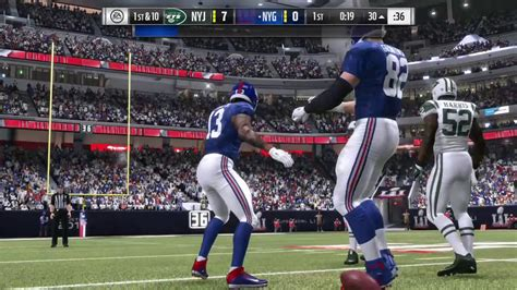 New York Giants VS. New York Jets Madden 17 - YouTube