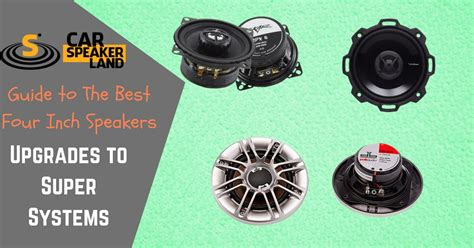 【secret】best 4 Inch Car Speakers 2018, 4 Inch Speakers Reviews