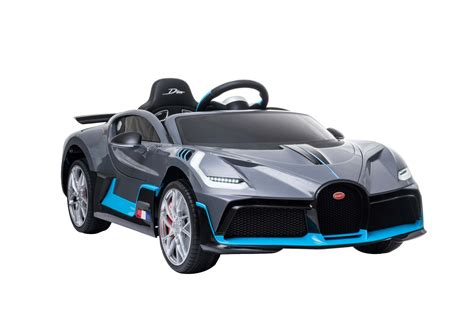 (no nods to our electric future here.) drivers will only be able to make use of all that on a track, where the car would look perfectly at home, with a. Bugatti Divo 12V Electric Ride on Kids Car With Remote ...