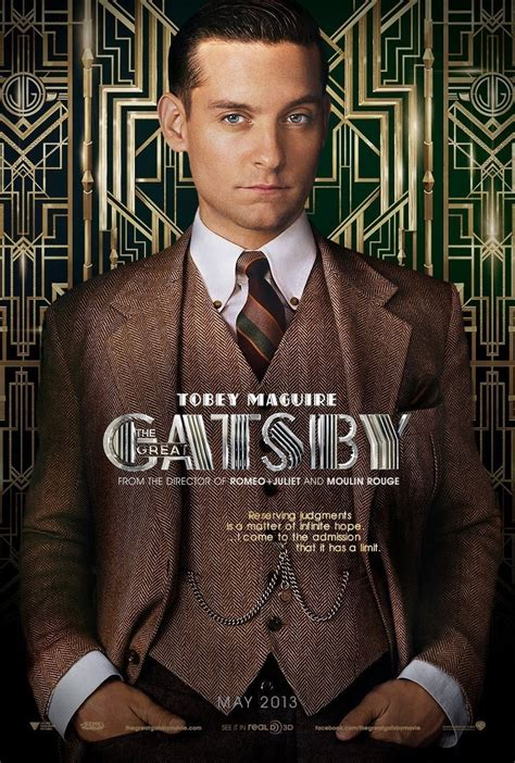 The Great Gatsby (2013) Film Promotion  Fonts In Use