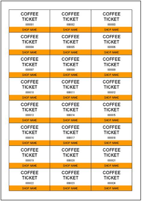 drink ticket template ticket outline template new calendar template site