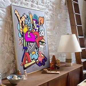 Toile Street Art : ikea lance une collection limit e d 39 affiches d di e au street art marie claire ~ Teatrodelosmanantiales.com Idées de Décoration