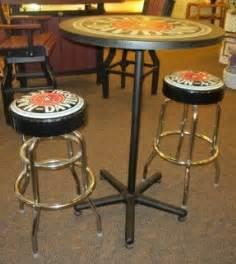 harley davidson pub table and chairs harley davidson stools foter