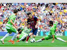 Barcelona 22 Getafe Lastminute equalizer undermines