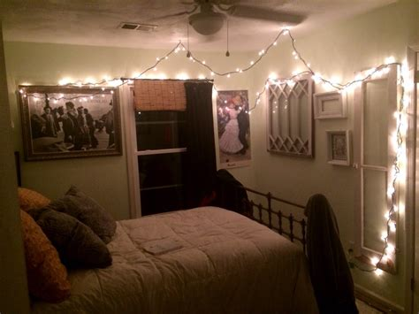 Bedroom Simple String Lights For And Decor All White