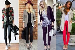 College Look Style : being fabulous with this season s trend coated denim ~ Orissabook.com Haus und Dekorationen