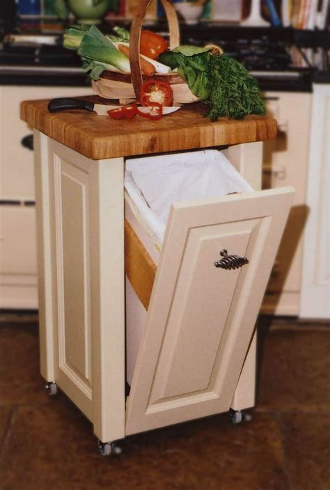 Portable Kitchen Island Plans   WoodWorking Projects & Plans