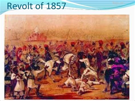Revolt of 1857 India