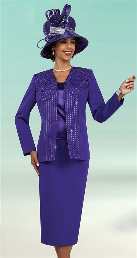 womens church suits by fifth sunday 52861 purple fall 2017 expressurway