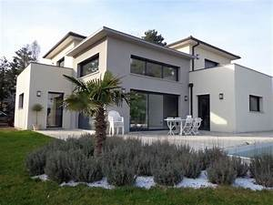 maison de ville avec piscine toit plat With plan de belle maison 2 maison neuve avec piscine toit plat