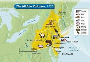 Why did they call the Middle Colonies 'the breadbasket ...