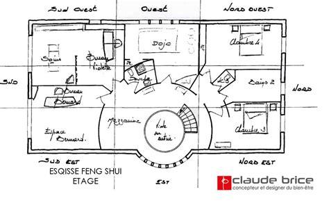 plan chambre feng shui plan feng shui maison plan de maison plain pied en l with