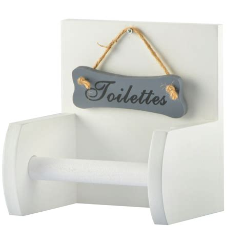 porte papier toilette en bois support pour papier toilette porte rouleau wc mur bois rustique shabby ebay