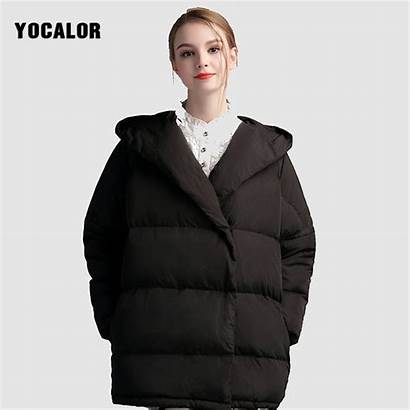 Oversized Down Puffer Coats Winter Jackets Korean