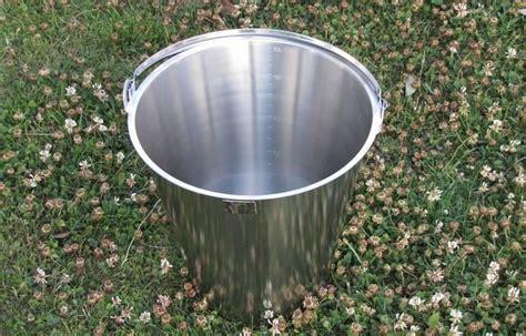 seau inox pour toilette seche seau inox 15 litres pour toilettes s 232 ches port inclus wcsec toilettes s 232 ches maison 233 co