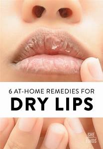 At Home Remedies For Dry Lips Beauty Fashion Lu00e8vres