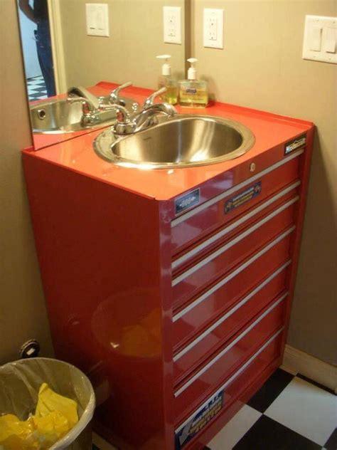 man cave bathroom sink mancave ideen rustikale baeder