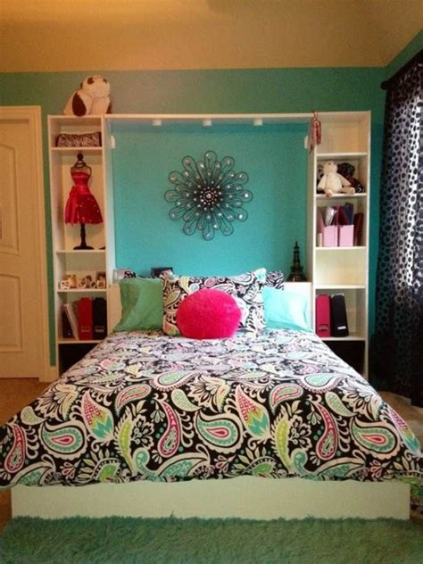 ideas  decorate  teen girl bedroom pretty designs