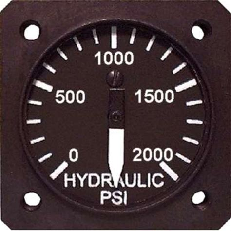 hydraulic pressure gauges  aircraft spruce europe