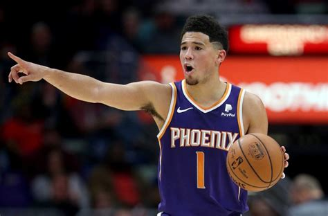 Devin Booker Named All-Star Injury Replacement   Hoops Rumors