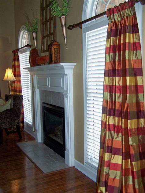 Plaid Drapery Panels by Discount Drapery Fabrics And Upholstery Fabric