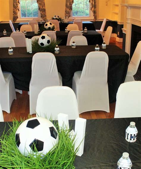 sportsoccer baby shower party ideas   soccer
