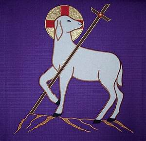 Image Gallery lamb cross symbol