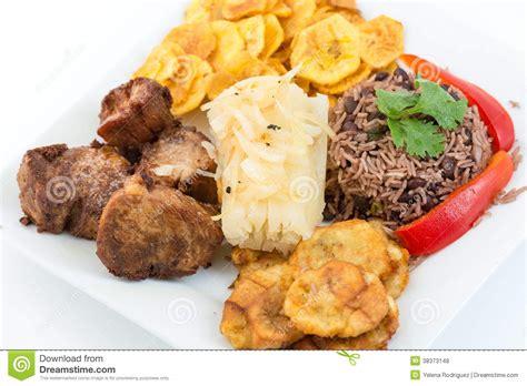 cuisine cubaine cuisine cubaine traditionnelle photos libres de droits