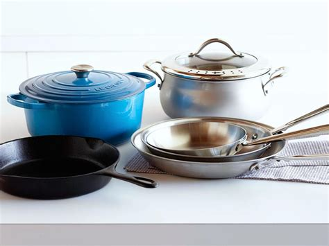 6 Essential Pots And Pans For Your Kitchen  Help Around