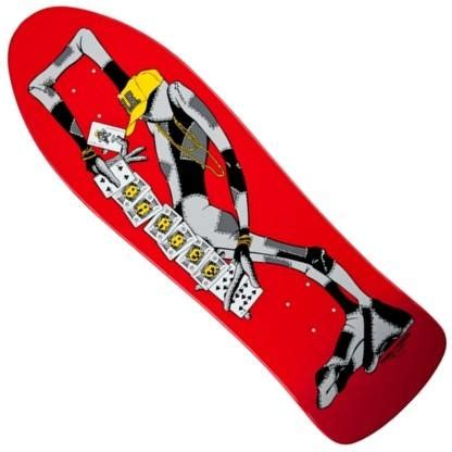 Barbee Remix Deck by Powell Peralta Barbee Quot Ragdoll Quot Reissue Deck 10 0