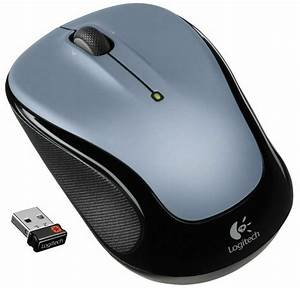 Logitech M325 Wireless Mouse Light Silver  Unifying