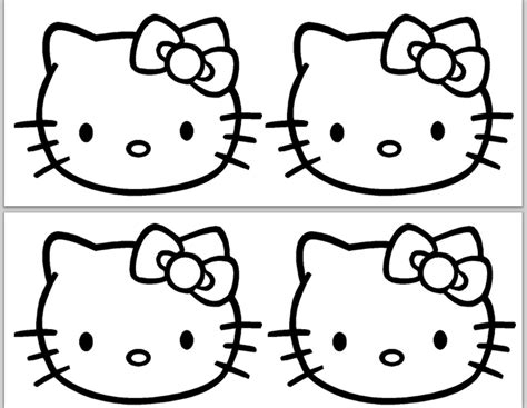 61 Cute Hello Kitty Free Coloring Pages Gianfredanet