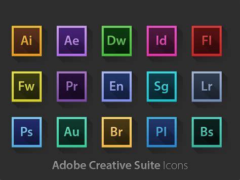 adobe design suite adobe creative suite icons freebies gallery