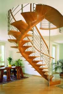 Wooden Spiral Staircase With Slide by Modern Spiral Staircase Construction Idea With Wood And