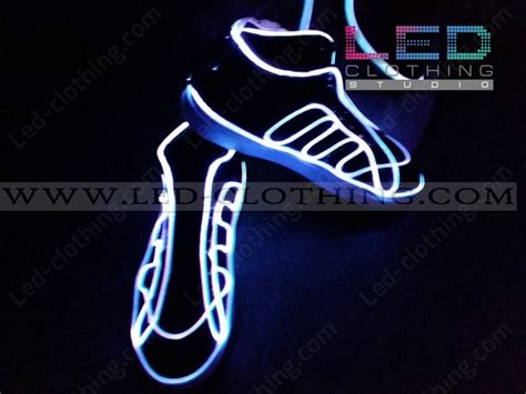 Led Fiber Optic Rgb Sneakers
